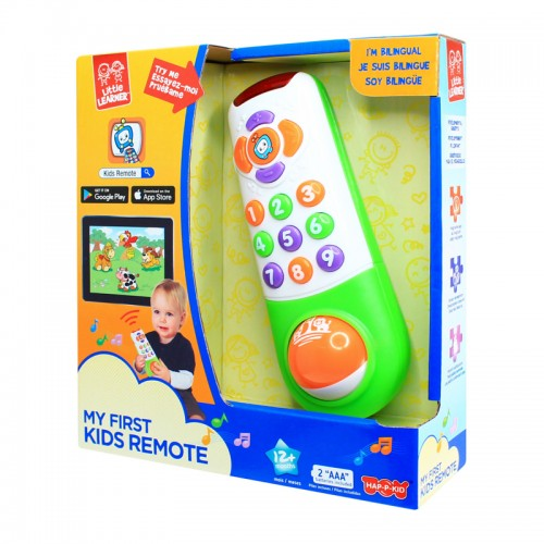 Hap-P-Kid My First Kids Remote Control With Apps