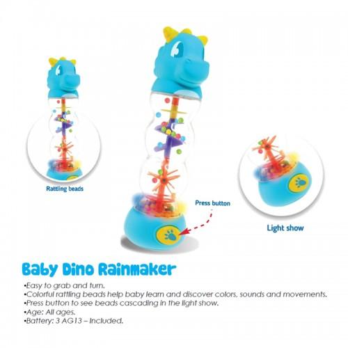 Hap-P-Kid Baby Dino Rainmaker