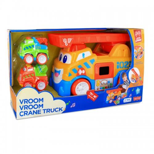 Hap-P-Kid Vroom Vroom Crane Truck