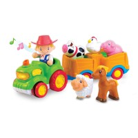 Hap-P-Kid Deluxe Musical Farm Tractor