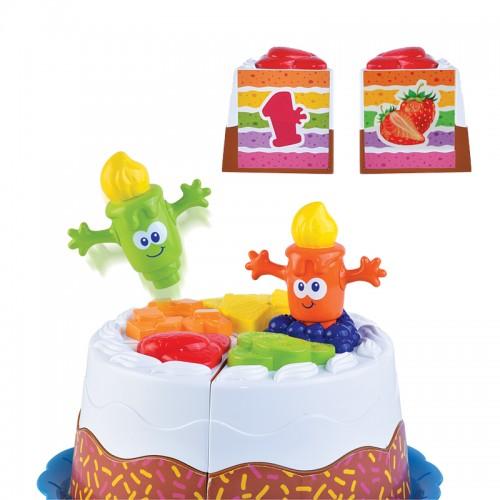Hap-P-Kid Match N Stack Birthday Cake
