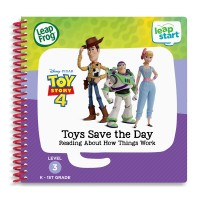 LeapFrog LeapStart® Toy Story 4 Toys Save the Day Reading About How Things Work