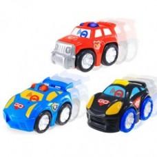 Hap-P-Kid Go Go Tap Racers (Red/Blue/Black)
