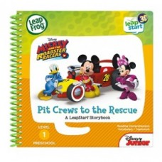 LEAPFROG LeapStart Book - Mickey & The Roadster Racers, Pit Crews to the Rescue