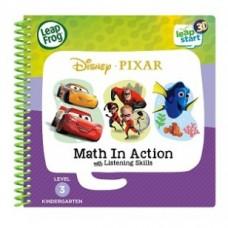 LEAPFROG LeapStart Book - Pixar Pals, Math In Action