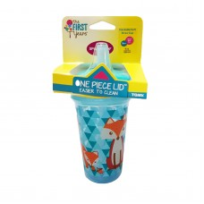 THE FIRST YEARS Stackable 9oz Soft Straw Cup - Fox