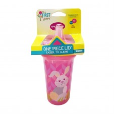 THE FIRST YEARS Stackable 9oz Soft Straw Cup - Rabbit