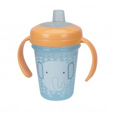 THE FIRST YEARS Stackable 7oz Soft Spout Trainer Cup - Blue Character