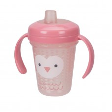 THE FIRST YEARS Stackable 7oz Soft Spout Trainer Cup - Pink Character