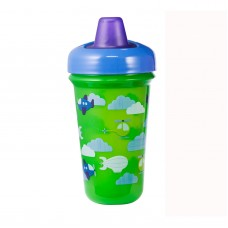 THE FIRST YEARS Stackable 9oz Soft Spout Cup - Green/ Pink
