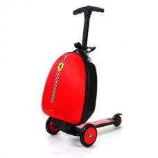 Ferrari 2-In-1 Kids Luggage Scooter