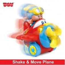 HAP-P-KID Shake & Move Plane