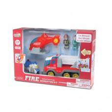 HAP-P-KID Fire Department Playset